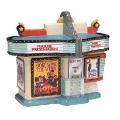 Gorgeous Movie Theatre Cookie Jar featuring Gone With The Wind and Breakfast at Tiffany's~Love it!