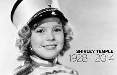 Tribute to Shirley Temple with inspirational quote posters.