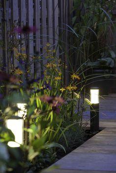 Verlichting :: In-Lite ® 12V :: SOLITARY :: LIV DARK - Lek Tuinmaterialen  Voor in de borders bij de grijze bestrating
