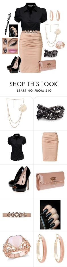 """mahmmod"" by mahmmodhafes on Polyvore featuring Wet Seal, SELECTED, Paule Ka, KG Kurt Geiger, Christian Louboutin, Akira, Amour, Oasis, women's clothing and women"