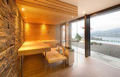 Gym Photos Sauna Design, Pictures, Remodel, Decor and Ideas - page 3 Sauna Design, Home Gym Design, Outdoor Spa, Modern Saunas, Wooden Bath, Spa Rooms, Sauna Room, Modern Baths, Luxury Interior