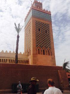The mosque of the Ketubiah in marrakesh