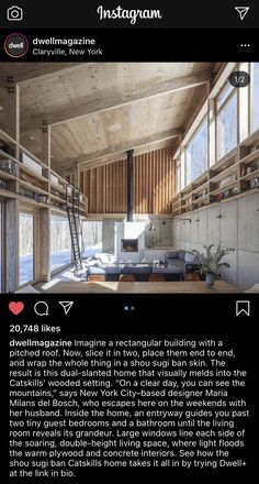 Cabin Interiors, Building, Places, Home, Buildings, Ad Home, Homes, Construction, Haus
