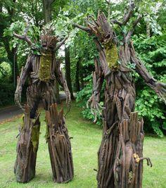 Tree Stilt Walkers   North West   UK