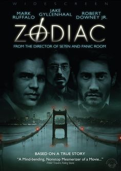 Zodiac, Directed by David Fincher and starring Jake Gyllenhaal, Mark Ruffalo and Robert Downey Jr. David Fincher, Robert Downey Jr, Beau Film, Love Movie, Movie Tv, Crazy Movie, Elias Koteas, Film Mythique, Image Film