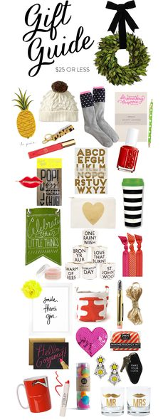 Gift Guide 2013: Gift for $25 or Less.