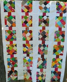 Got scraps piling up on you?  Pat Sloan has an outlet for your excess; her Cider Row quilt was one she did for ScrapTherapy® and is an excellent way to turn your extra scraps into a quilt for charity that someone will love!  More from Pat... http://www.freequiltpatterns.info/free-pattern---cider-row-quilt-by-pat-sloan.htm