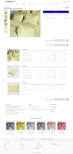 #TheConranShop - Custom #Product page. #Magento #website #ecommerce. #luxurylifestyle #indoor #decor #outdoor #furniture #lighting #dining #kitchen #accessories #textiles #technology #beauty #fashion #gifts #lifestyle #bedlinen #beddings #home #websiteinspiration #design