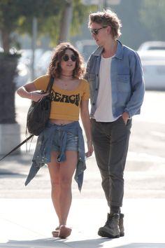 Vanessa Hudgens & Austin Butler Out & about in Venice Beach - September 21st