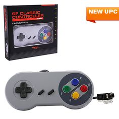 Wii Super Famicom Style Controller - Limited Edition (TTX TECH)  https://www.retrogamingstores.com/gaming-accessories/wii-controller-super-famicom-style-controller-limited-edition-ttx-tech  Specifically designed to plug perfectly into your official or Third-Party Wii® Remotes.