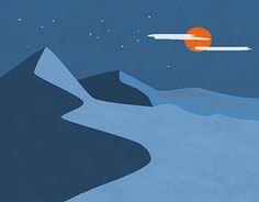 """Check out new work on my @Behance portfolio: """"Desert dune"""" http://be.net/gallery/54439271/Desert-dune"""
