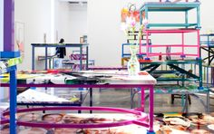 Urs Fisher tables - belongs on both art and design objects of art boards