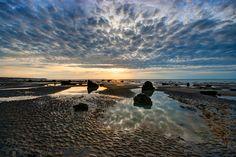 Sunset at Sotteville-sur-mer -   Philippe Lejeanvre