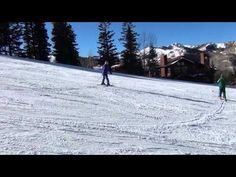 Get an inside look at Katie Fredrickson's second ski lesson at Deer Valley!