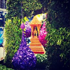 "Behind the scene of Siam Paragon Bangkok Royal Orchid Paradise"" - Bangkok Trip, Bangkok Travel, Orchids, Behind The Scenes, Paradise, Christmas Ornaments, Holiday Decor, Flowers, Christmas Jewelry"