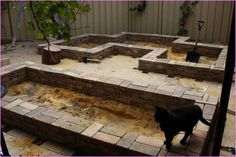 Building A Raised Garden Bed With Bricks