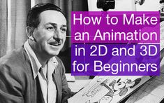 "Some Tips for Beginnersany people ask us ""How do you make an animation in 2D or 3D for website or own video? "" So we decided to write a small guide that covers many topics you might need to know if you ask how to make an animation and create your own masterpiece at home. Here we will talk about"
