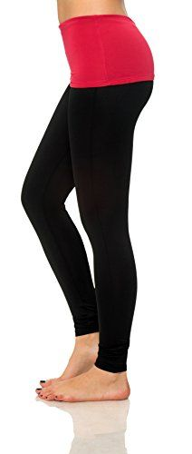 013c9781c1bbe Women s Active Workout Basic Solid Legging Yoga Pants Fitted Tights Plus  Size (XX-Large