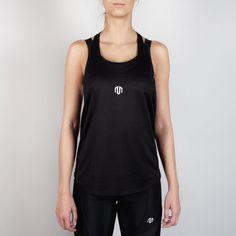 NAKA Performance Stringer Black #black #brand #fashion #gym # fitness #gymwear #fitnesswear #gymclothes #womenswear #sporty #sport #sportswear