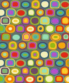 Multicolored Dots by Amy Schimler-Safford