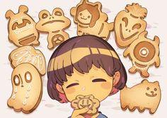 grafika Cookies, frisk, and undertale