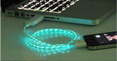 LED iphone 4s usb cable,iphone 4 usb cable,iphone cable