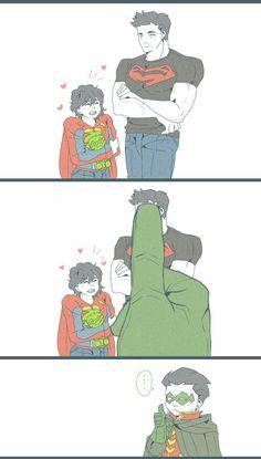 damijon, part super sons Loki Marvel, Marvel Funny, Marvel Memes, Marvel Dc Comics, Anime Comics, Superhero Family, Superman Family, Batman And Superman, Damian Wayne