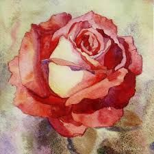Image result for watercolor painting roses