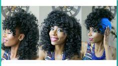 Pincurls On Wet Natural Hair Tutorial + 3 Hairstyles [Video] - http://community.blackhairinformation.com/video-gallery/natural-hair-videos/pincurls-wet-natural-hair-tutorial-3-hairstyles-video/