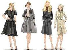 chanel fashion illustration - Google Search