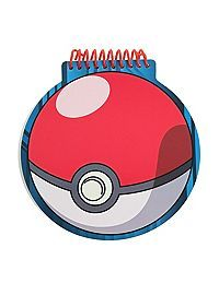 HOTTOPIC.COM - Pokemon Poke Ball Notebook