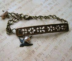 love in two centuries bracelet, 2008 Diy Jewelry, Handmade Jewelry, Bracelets, Etsy, Bangle Bracelets, Bracelet, Handmade Jewellery, Bangle, Arm Bracelets