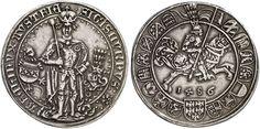 Erzherzog Sigismund, der Münzreiche, 1446-1496. Guldiner 1486, Hall. Dav. 8087…