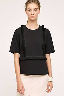 Jeni Fringe Top - anthropologie.com