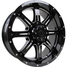 20 inch Inch Gear Alloy Big Block Black/Milled Wheel Rim, Size: 20 x 9 Suv Rims, Nitto Ridge Grappler, Wheel And Tire Packages, Tyre Fitting, Aftermarket Wheels, Custom Wheels, Wheels And Tires, Alloy Wheel, Gears