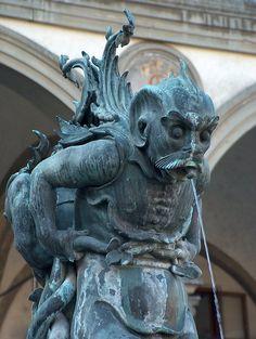 Fonte al Piazza Santissima Annunziata, Firenze