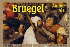 Bruegel Amber Ale, Belgian Ale 5,2% ABV (Brouwerij Van Steenberge, Bélgica) #label