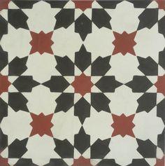 Encaustic Cement Tile A411-B