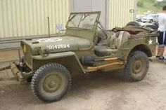 WWII Willys Jeep vergrößern