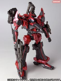 This armored Core mecha will be released by Kotobukiya this December and retail for 3780 yen. Armored Core action below. Armored Core, Mecha Suit, Futuristic Armour, Sci Fi Armor, Robot Concept Art, Robot Design, Conceptual Design, War Machine, Gundam