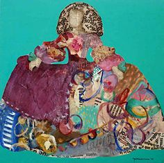 Menina 61 de Carmen Casanova Chef D Oeuvre, Art Plastique, Figurative Art, Les Oeuvres, Christmas Ornaments, Holiday Decor, Illustration, Painting, Arts