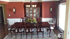 Recessed Wall For China Cabinet - Dining Room