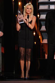 Miranda Lambert stunned at the CMA Awards