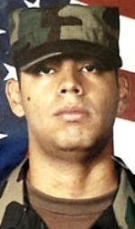 Army PFC Oscar Sanchez, 19, of Modesto, California. Died December 29, 2004, serving during Operation Iraqi Freedom. Assigned to 1st Battalion, 24th Infantry Regiment, 1st Brigade, 25th Infantry Division (Stryker Brigade Combat Team), Fort Lewis, Washington. Died of injuries sustained when a vehicle-borne improvised explosive device detonated at his observation post in Mosul, Ninawa Province, Iraq.