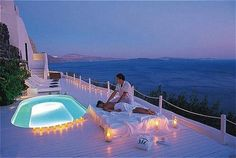 Katikies in Santorini, Greece at Hotels of the Rich and Famous