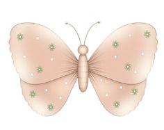 Mariposas y flores baby shower