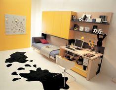 dormitorio-adolescente-amarillo.jpg 582×456 pixels