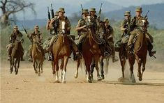 South African mounted infantry 80's [720x453]