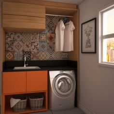 Optimize your small space & learn trick how to organize your dryer sheets, laundry room cabinet & other laundry room essentials Laundry Decor, Small Laundry Rooms, Laundry Room Design, Compact Laundry, Laundry Room Cabinets, Laundry Room Storage, Condo Living, Little Houses, Creative Home