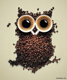 Si quieres mantenerte despierto tomate un buen café.